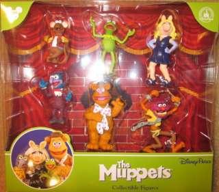 Collectible Figures Set Disney Park Exclusive Kermit Miss Piggy