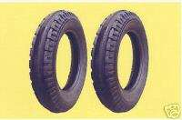 two 6.00 16 Old Style John Deere Front Tractor Tires
