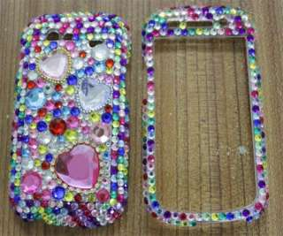 Diamond Colors Heart Hard Case Cover For SAMSUNG GOOGLE NEXUS S i9020
