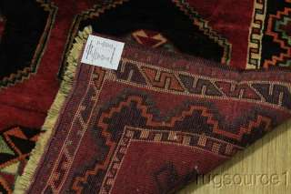 LARGE SEMI ANTIQUE TRIBAL 5X10 LORI SHIRAZ PERSIAN ORIENTAL AREA RUG