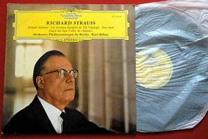 RICHARD STRAUSS KARL BOHM DON JUAN CLASSICAL EXYUGO LP