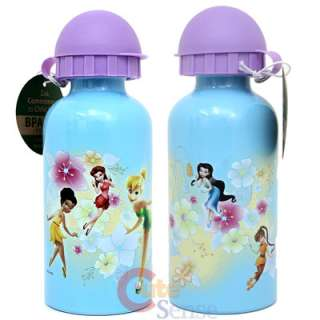 Disney TinkerBell Fairies Aluminum Sports Water Bottle / Container