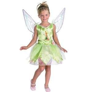 DISNEY FAIRIES TINKERBELL CHILD GIRLS COSTUME M (7 8)