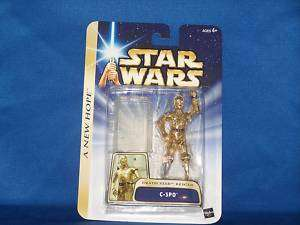 STAR WARS A NEW HOPE C 3PO DEATH STAR RESCUE HALL FAME