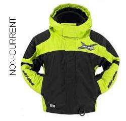 SKI DOO BOYS X TEAM JACKET NEW GREEN 440556