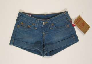 NWT True Religion jeans Allie shorts in Sugar Creek 24