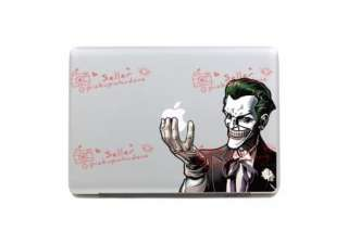 joker humor MacBook pro/Air Skin Art decal sticker  13