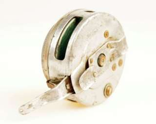 VINTAGE SHAKESPEARE No. 1806 AUTOMATIC FLY FISHING REEL   A BEAUTY