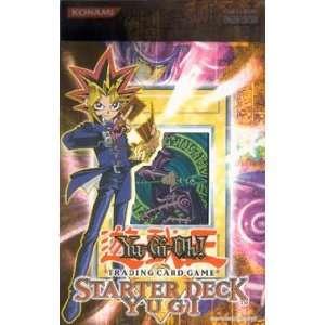 KONAMI   Yu Gi Oh Starter Deck Yugi inkl Weißer Drache Cover zeigt z