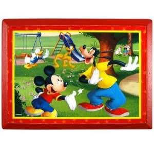 NEW Disney Mickey Mouse & Freinds Wooden Wall Plaque Room Art Decor