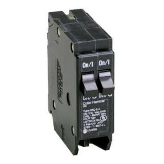 15/20 amp. 1 in. Duplex Double Pole Type BD Replacement Circuit