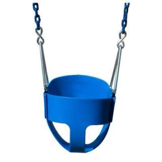 Gorilla Playsets Full Bucket Swing with Chain in Blue 04 6322 at The