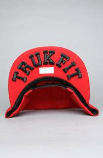 TRUKFIT The Feelin Spacey Snapback Cap in Red : Karmaloop   Global