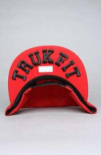 TRUKFIT The Feelin Spacey Snapback Cap in Red : Karmaloop   Global
