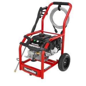 Homelite 2,500 psi 2.3 GPM Axial Cam Pump Gas Pressure Washer HL252300