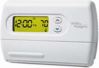 White Rodgers 5 1 1 Day Energy Star Rated Programmable Thermostat