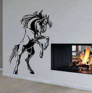 Giant Horse Standing Wall Art Decor Vinyl Decal Sticker