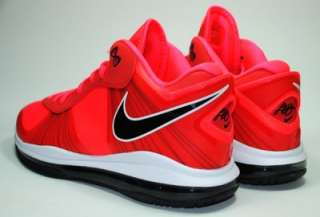 Nike Lebron James VIII 8 V/2 Low Solar Red