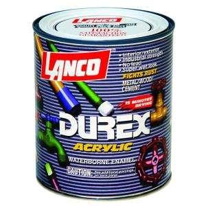 Lanco 1 1 Qt. Acrylic Latex Black Durex Primer DE717 5 at The Home