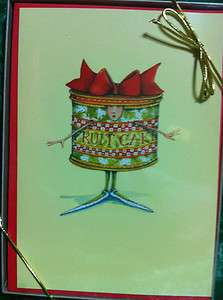 NEW Patience Brewster Boxed Christmas Cards   Fruit Cake   Box of 10