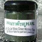 Moss Green metal flake paint powder coat custom gel NR