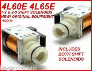 4L60E 4L65E SHIFT SOLENOID 2 PACK A+B NEW AC DELCO