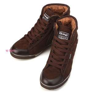 Womens Lovely Gag Brown Winter Snow Warm Ankle Boots