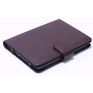 Brown Folio PU Leather Case Cover Pouch For Ebook  Kindle Touch