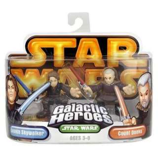 STAR WARS GALACTIC HEROES ANAKIN SKYWALKER COUNT DOOKU