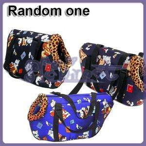 CUTE Size Medium Navy Blue Pet Carrier Dog Travel Bag