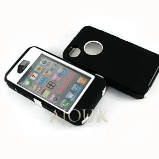 DEFENDER iPhone 4 4S Heavy Duty Tough Colourful Case Cover A053 mbs