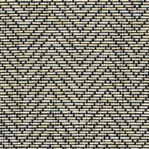 Con Tact 12 in. x 4 ft. Zig Zag Black/Ivory Natural Weave Shelf Liner