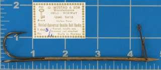 12 Mustad 9418 Size 5/0 Double Live Bait & Mullet Hook