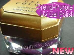 Nail Art UV Gel Polish ( Trend Purple ) New