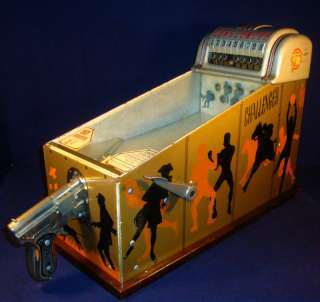 Vintage ABT Challenger Target Shoot Arcade Game 1930s 1940s Great