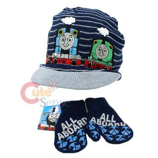 Thomas Tank Engine & Friends Gloves Cap Beanie Set w/ Percy James