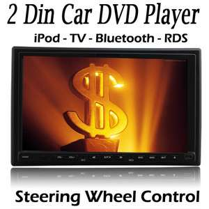 Inch Monitor Touch Screen Stereo Car CD/DVD Player BT