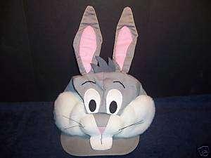 Plush Bugs Bunny Cap Arbys WB Stuffed Vintage Rare Toy
