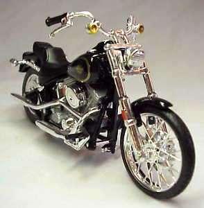 1984 Harley Davidson FXST Softail Standard  118 Scale