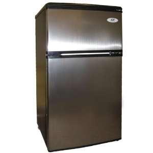 Sunpentown 3.2cu.ft.Double Door Refrigerator RF 322SS