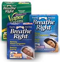 Breathe Right Nasal Strips Clear Large, 30 Strips