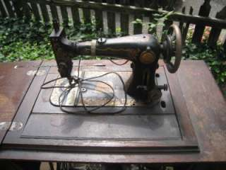 Clothier Sewing Machine TREADLE Cast Iron & Ornate Wood L@@K