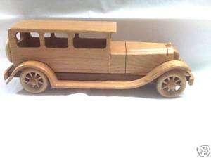Model Car (Wooden Cars Handmade) 1929 Chrysler Imperial
