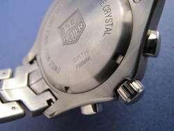 TAG Heuer Mens CJ1110. Link Quartz Split Seconds Chronograph Watch NO