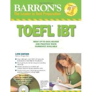 Barrons TOEFL iBT with Audio Compact Discs [Paperback