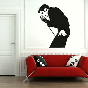 ELVIS Presley Giant wall art stickers transfers graphics large the