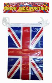 12 FT 3.7 METRES UNION JACK FLAG BUNTING OLYMPICS GREAT BRITAIN