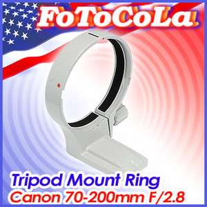 Tripod Mount Ring for Canon EF 70 200mm F2.8 L USM / IS