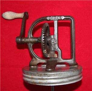 Antique DAZEY #34B Butter Churn Mechanism no Jar