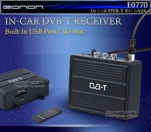 DVB T DECODER TV DIGITALE TERRESTRE AUTO PER AUTORADIO